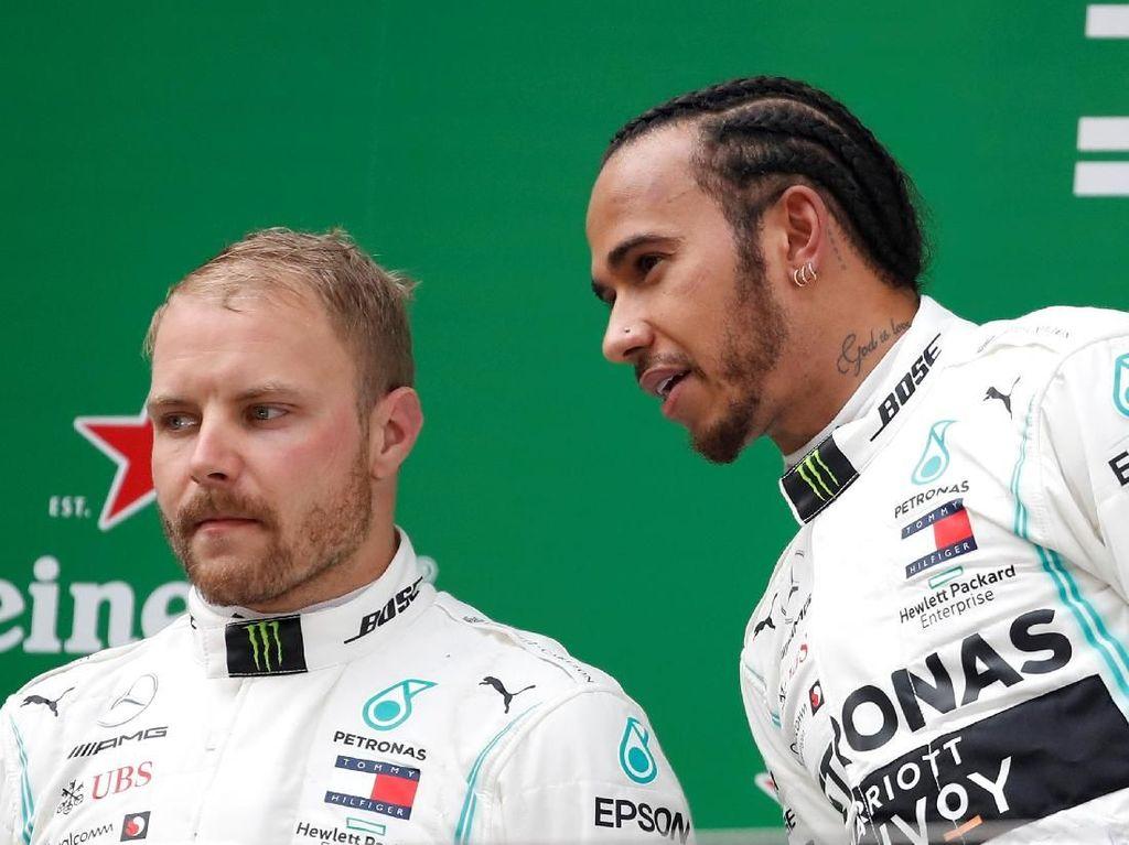 Klasemen F1: Hamilton Salip Bottas