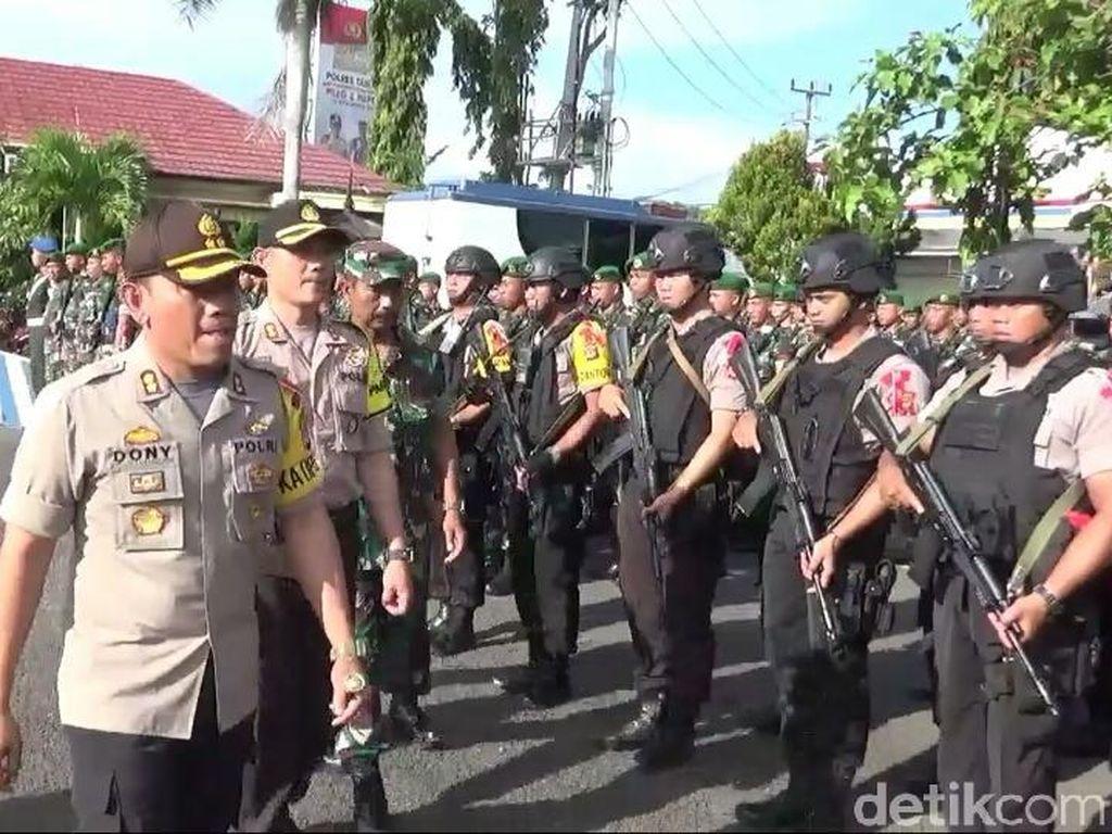Polisi Siap Tembak Pelaku yang Ancam Jiwa Pencoblos di Tasikmalaya