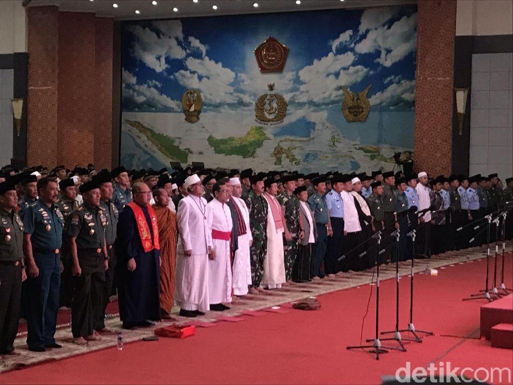Gelar Doa Bersama, Panglima Tegaskan Netralitas TNI di Pemilu 2019
