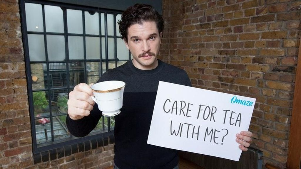 Gaya Kit Harington, si Jon Snow di GOT yang Hobi Ngopi dan Makan