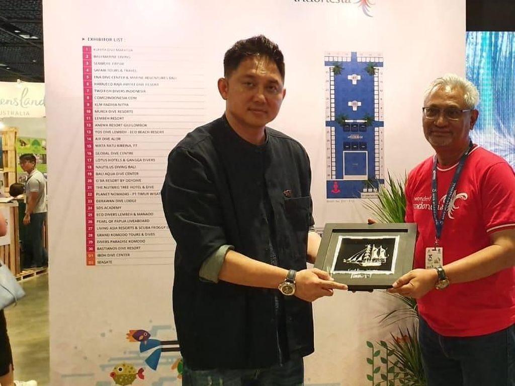 Wonderful Indonesia Raih Penghargaan Booth Terbaik di Adex 2019