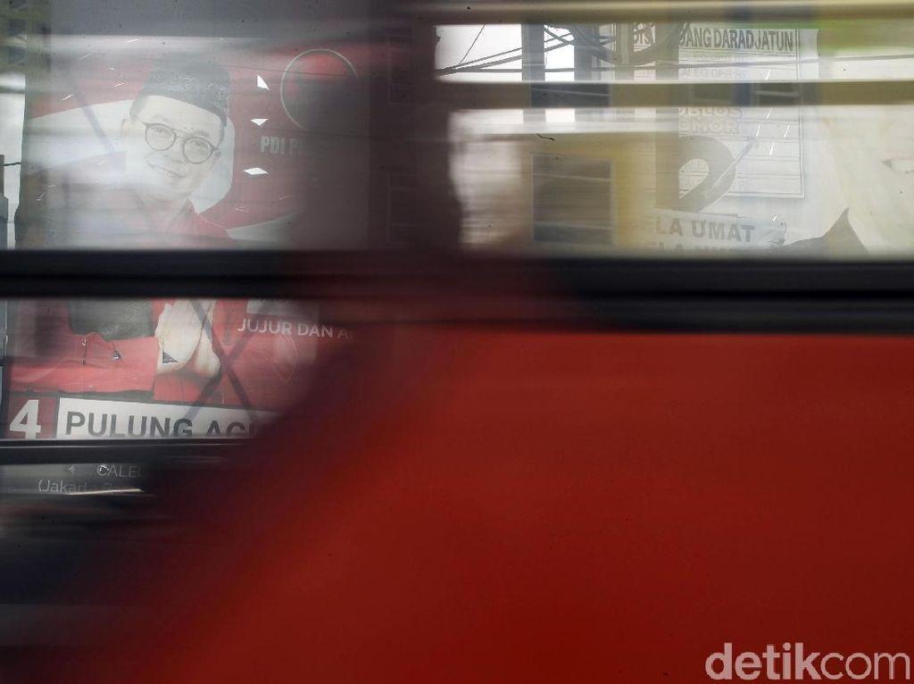 APK Caleg Masih Bertebaran di Jakarta Utara