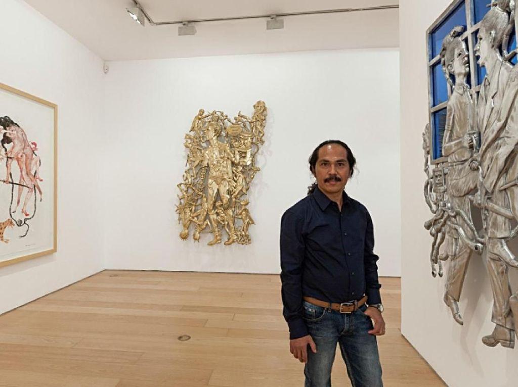 Entang Wiharso Raih Beasiswa Guggenheim 2019 untuk Proyek Seninya