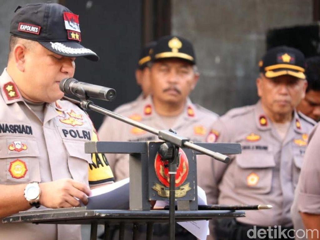 Polres Sukabumi Siagakan Alat SAR di TPS Rawan Bencana