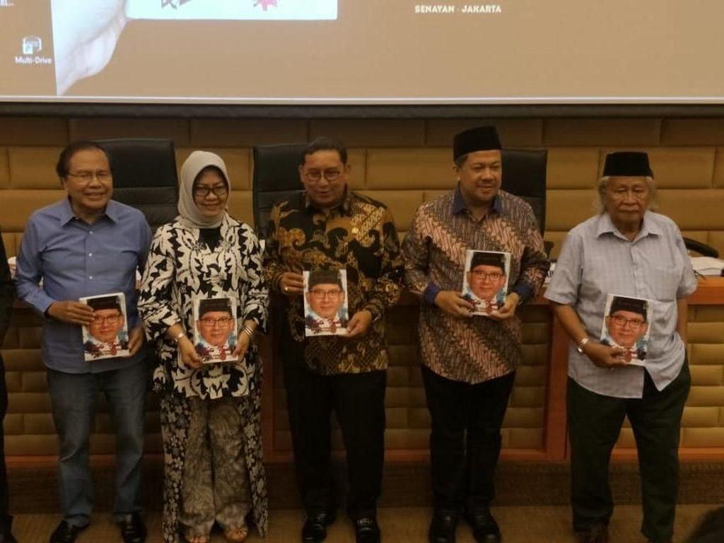 Fadli Zon Luncurkan Buku Berisi Catatan Kritis Selama Jadi Pimpinan DPR