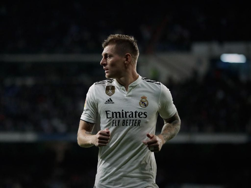 Kroos Berencana Pensiun di Madrid Setelah Kontraknya Habis