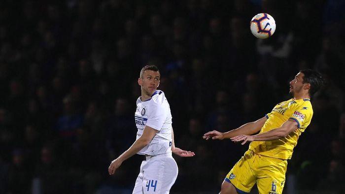 Ivan Perisic saat Inter Milan menghadapi Frasinone dalam lanjutan Serie A. (Paolo Bruno/Getty Images)
