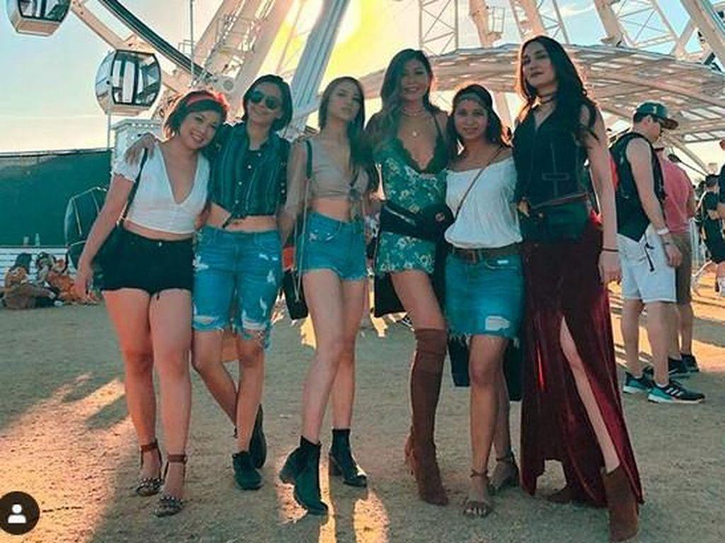 Nonton Coachella, Penampilan Luna Maya Jadi Sorotan