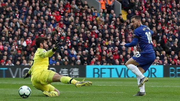Eden Hazard membuang peluang matang yang dia punya