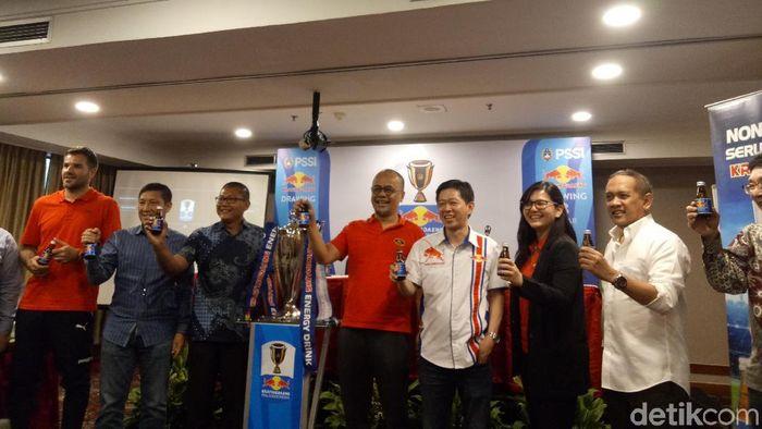 Drawing delapan besar Piala indonesia 2019 telah dilakukan. (Amalia Dwi Septi/detikSport)