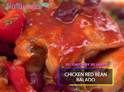 Resep Chicken Red Bean Balado/