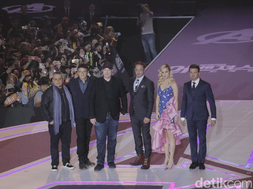 Lihat Antusias Fans Korea Selatan, Brie Larson Hampir Nangis