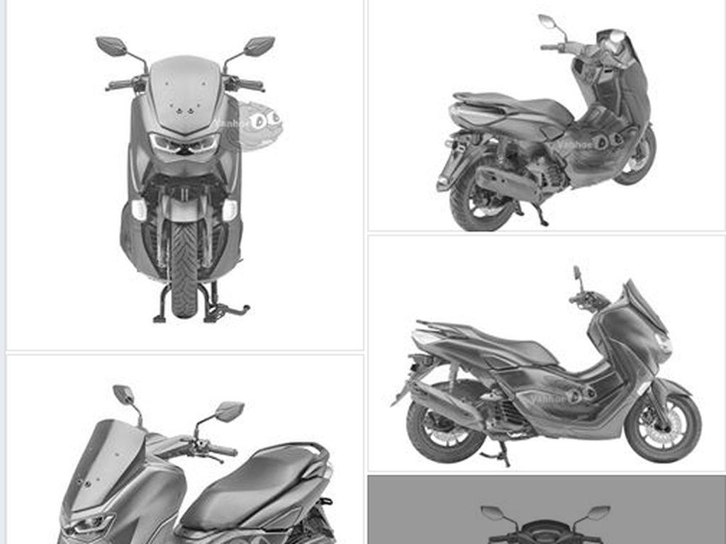 Desain Nmax Anyar Muncul di Medsos, Yamaha Angkat Bicara