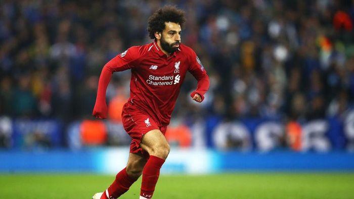 Mohamed Salah disarankan pindah ke Barcelona. (Foto: Julian Finney/Getty Images)