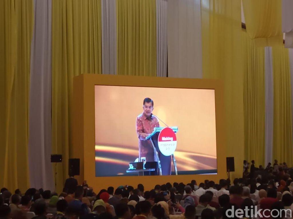 JK Kumpul Bareng Pengusaha dan Ahli Industri di Tangerang