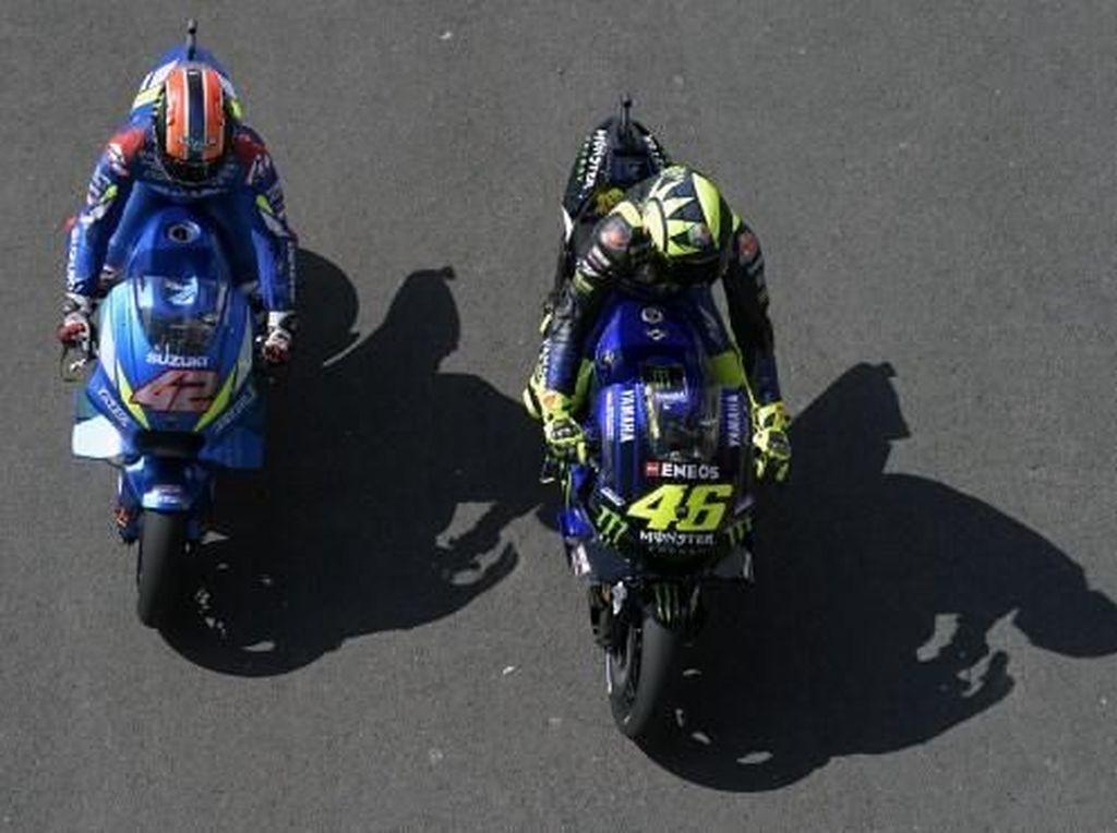 Dovizioso: Saya Khawatir Rossi dan Rins Tampil Konsisten...