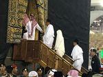 Video Jokowi-Iriana Dikawal Masuk Kakbah saat Umrah