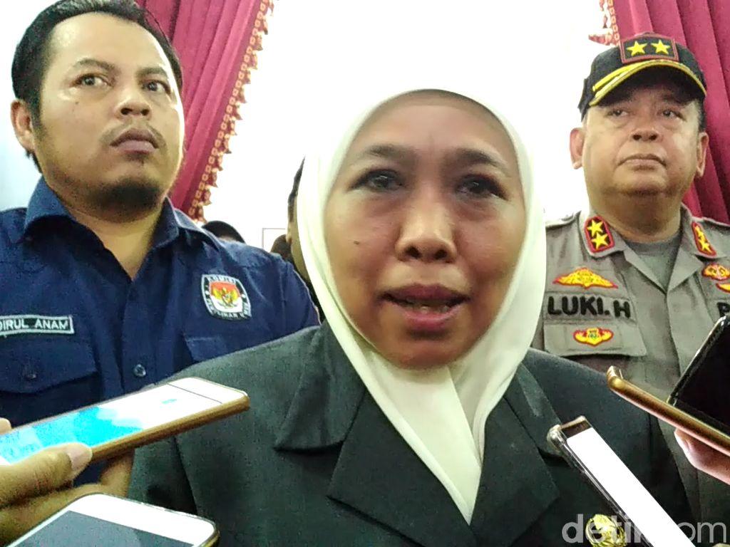 Pemprov Jatim Beri Santunan Rp 5 Juta untuk Petugas Pemilu yang Meninggal