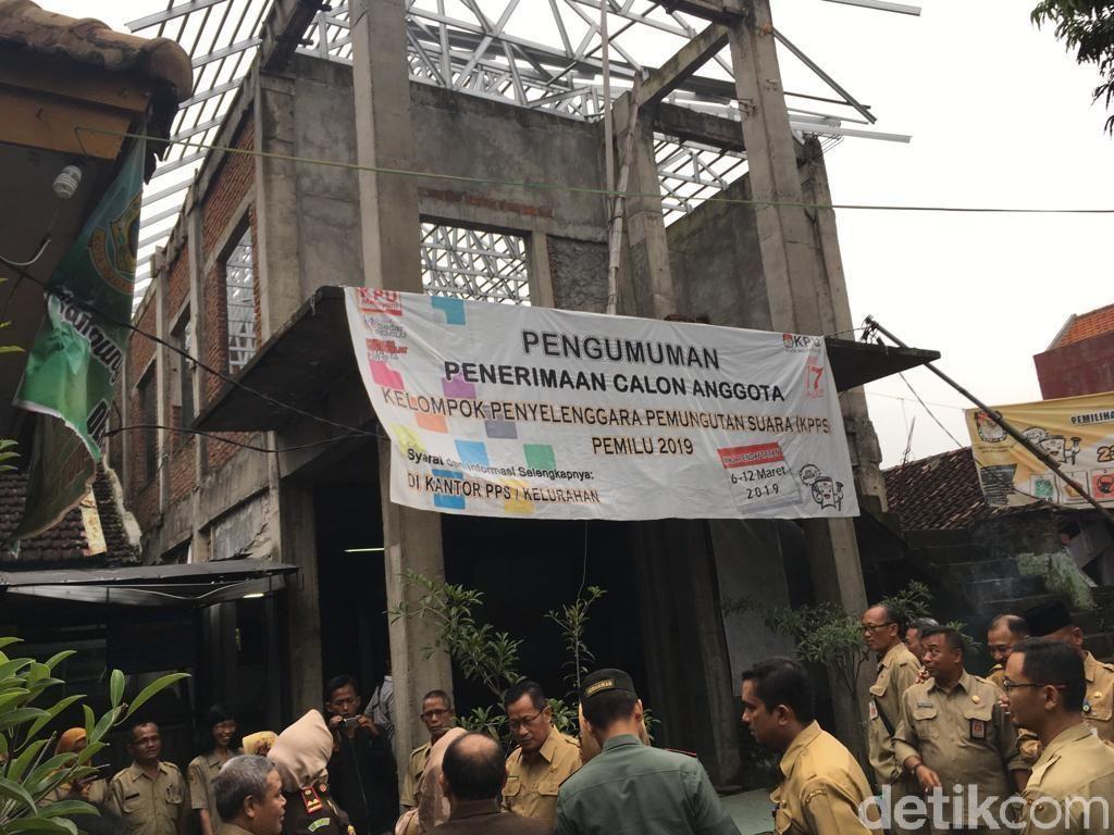 Kantor Kelurahan di Kota Mojokerto Mangkrak Dampak Proyek Bermasalah