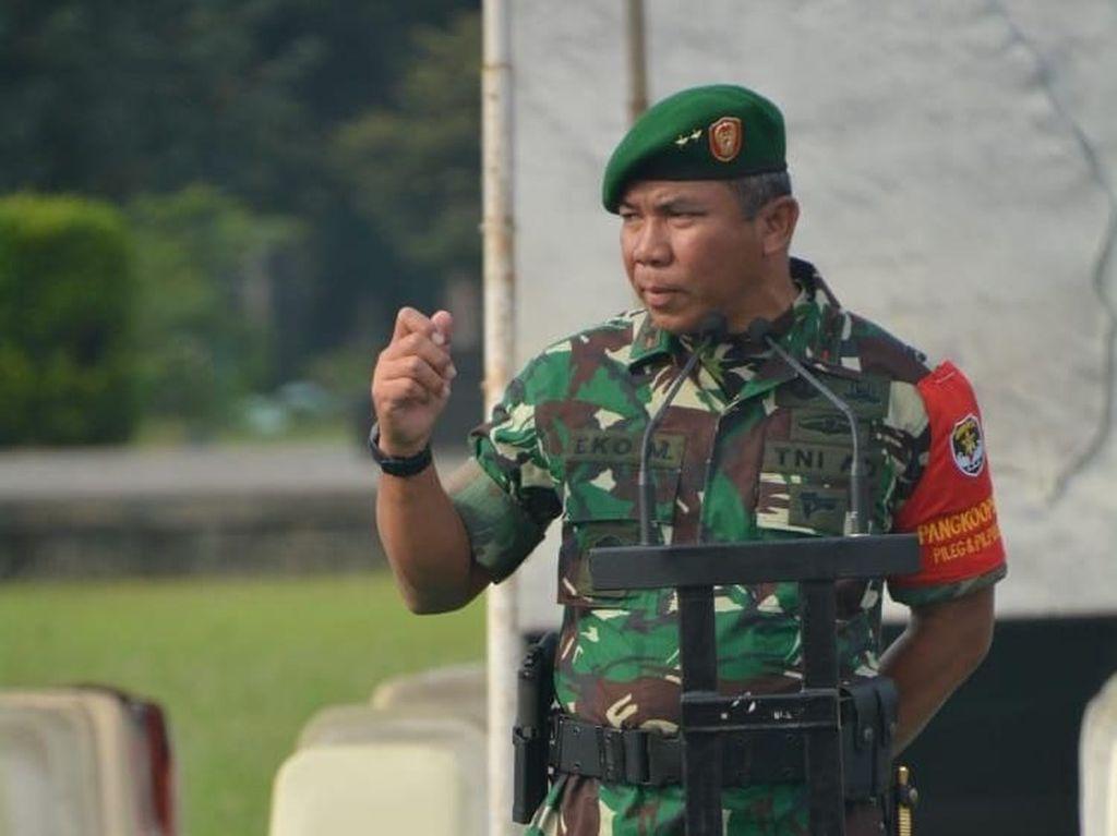 Mutasi TNI: Mayjen Eko Margiyono Jadi Pangkostrad, Mayjen Richard Dankoopsus