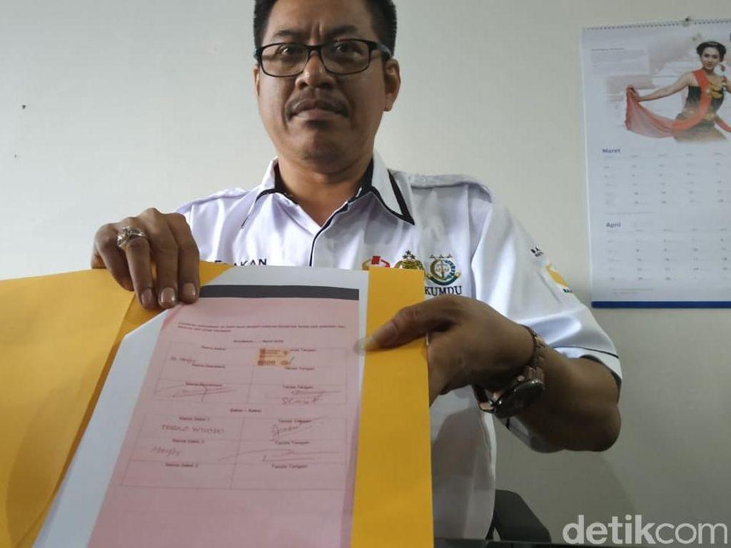 Gakkumdu Pastikan Ratusan Juta yang Diamankan di Surabaya Uang Saksi