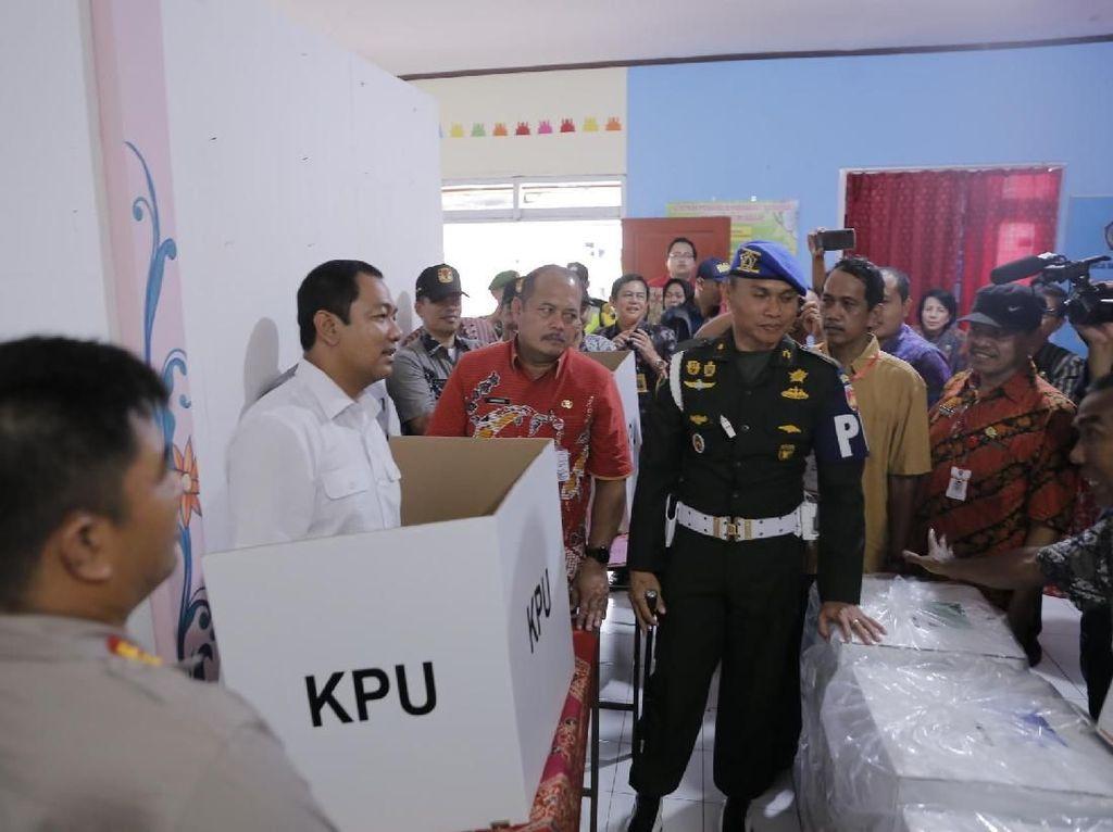 Sebelum Pencoblosan, Wali Kota Semarang Pantau Beberapa TPS