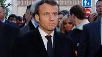 Macron Umumkan 7 Ribu Tentara Dikerahkan Untuk Jaga Tempat Ibadah-Sekolah