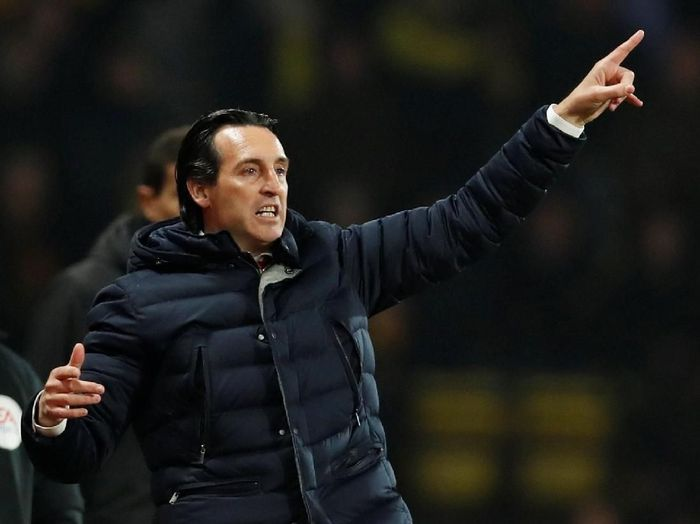 Manajer Arsenal, Unai Emery. (Foto: David Klein/Reuters)