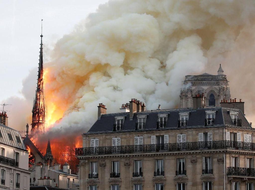 Industri Wine Prancis Donasikan Rp 4,6 Miliar untuk Perbaikan Notre-Dame