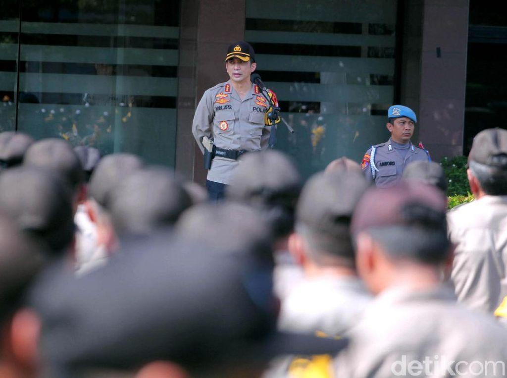 Larang Pengerahan Massa ke TPS, Polisi: Sudah Ada Petugas