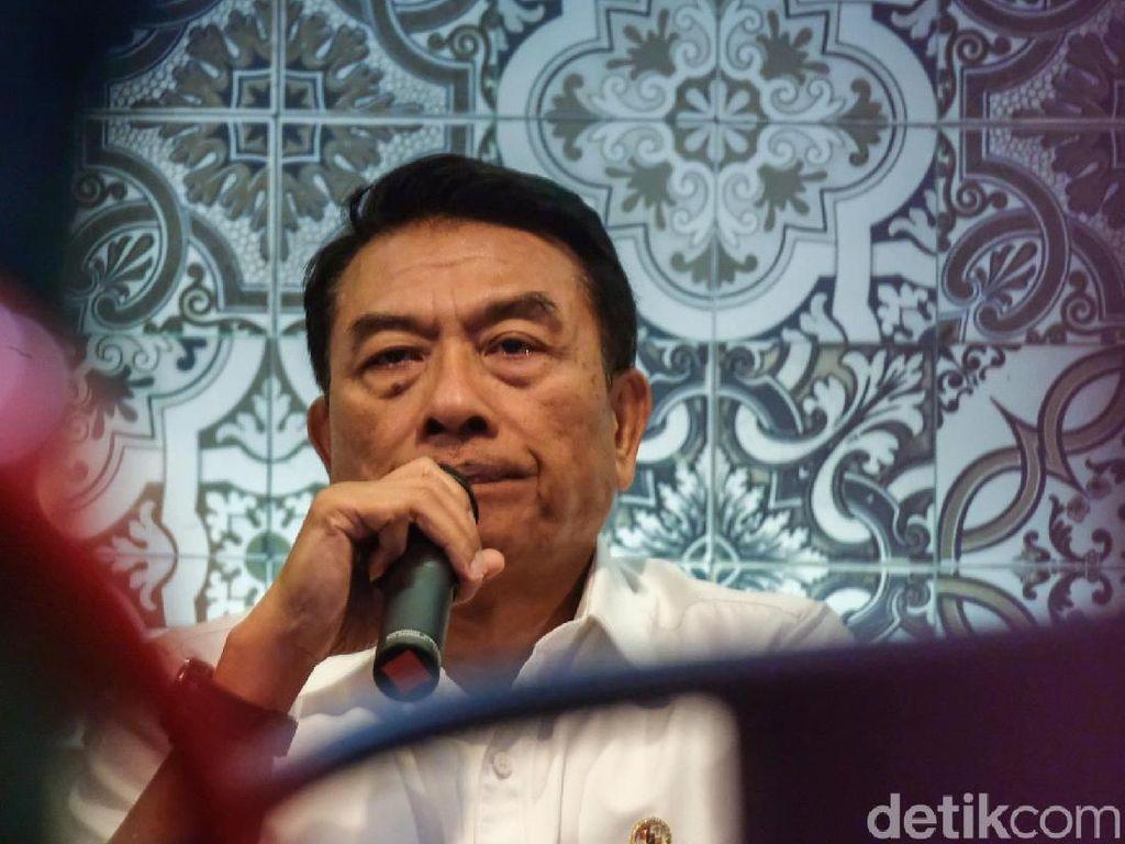 Ijtimak Ulama Desak KPU Diskualifikasi 01, Moeldoko: Ada UU, Hormati Hukum