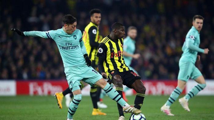 Arsenal menang 1-0 atas Watford. (Foto: Julian Finney/Getty Images)