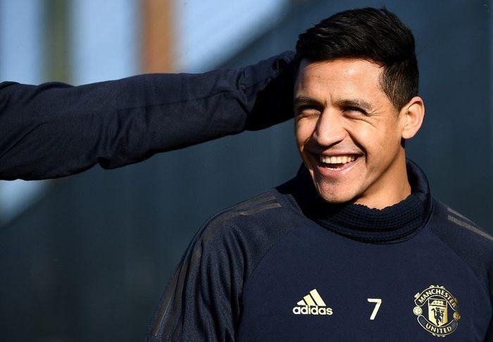 Alexis Sanchez menghasilkaFoto: Franck Fife / AFP