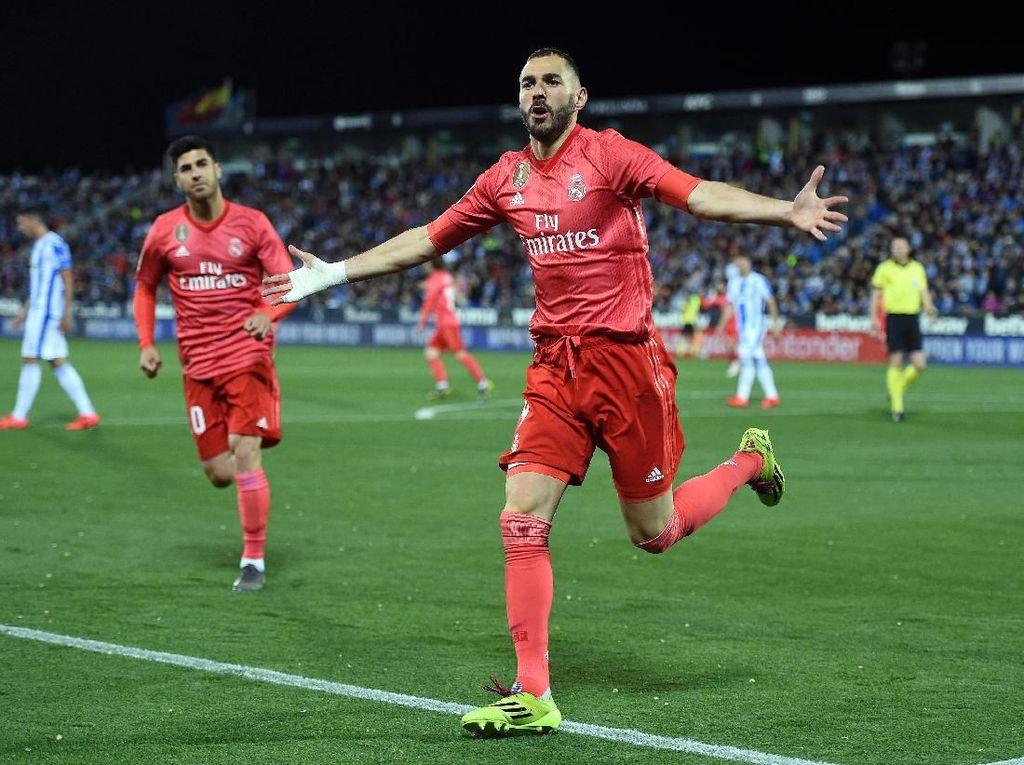 Madrid Tersendat, Tidak dengan Benzema