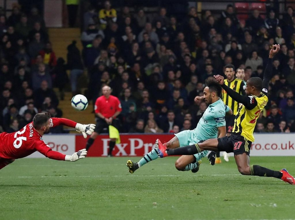 Hasil Liga Inggris: Atasi Watford, Arsenal Naik ke Peringkat Empat
