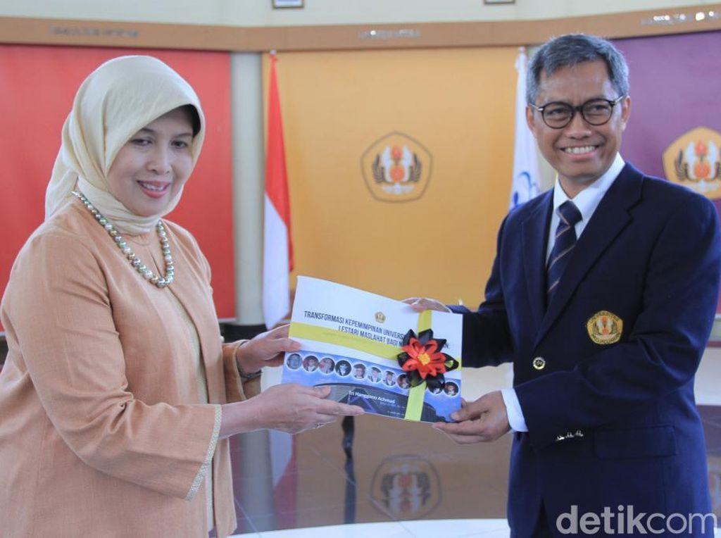 Sekretaris Ditjen Kemahasiswaan Kemenristekdikti Jadi Plt Rektor Unpad