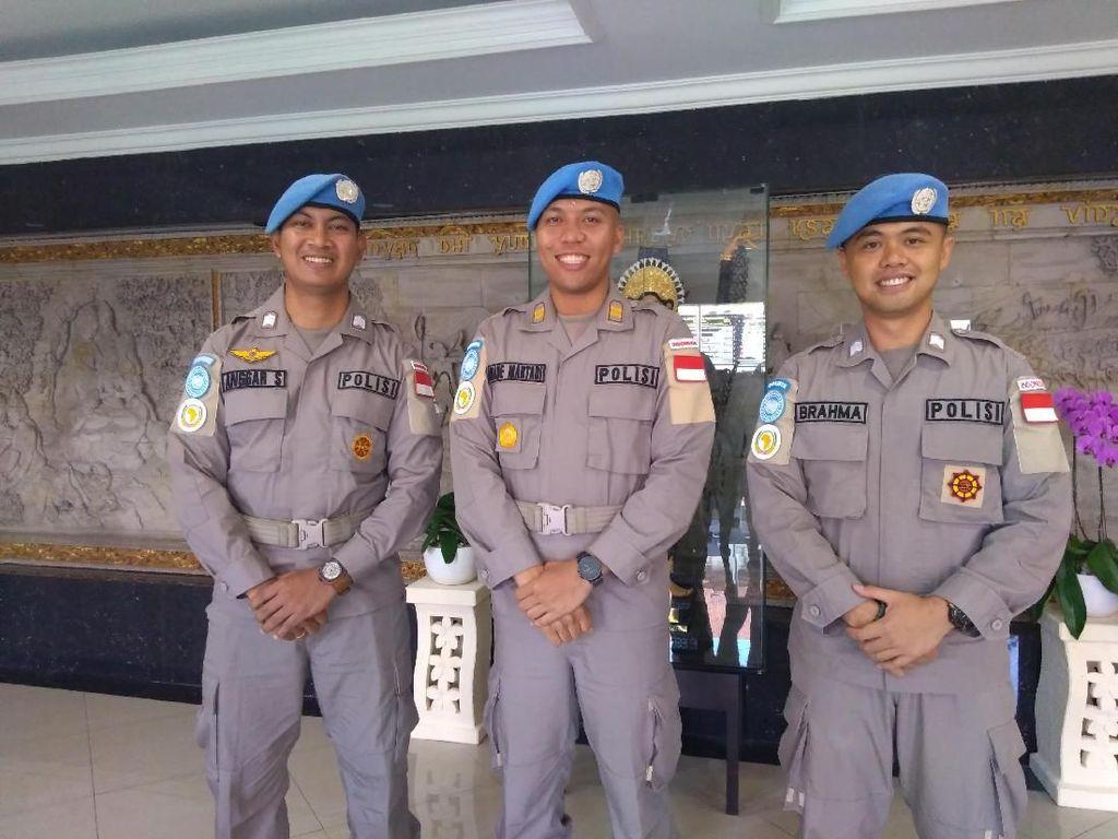 Cerita Seru 3 Polisi Bali Jadi Pasukan Perdamaian PBB di Sudan