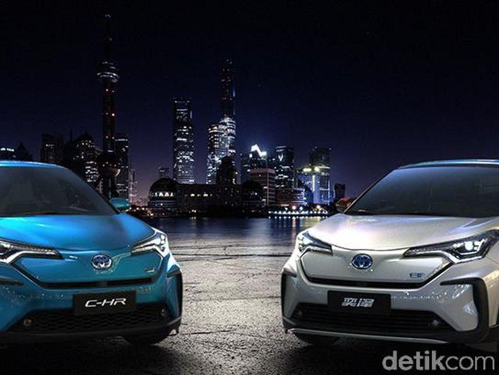 Crossover Listrik Kembar Toyota
