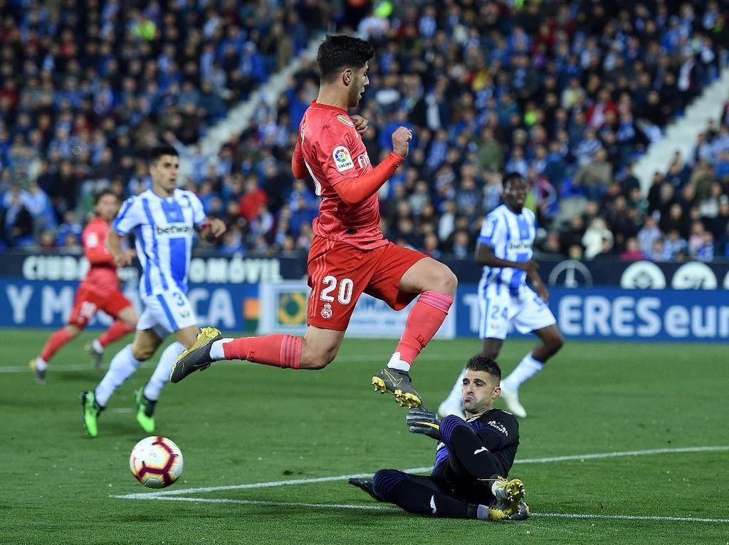 Hasil Liga Spanyol: Sempat Tertinggal, Real Madrid Ditahan Leganes 1-1