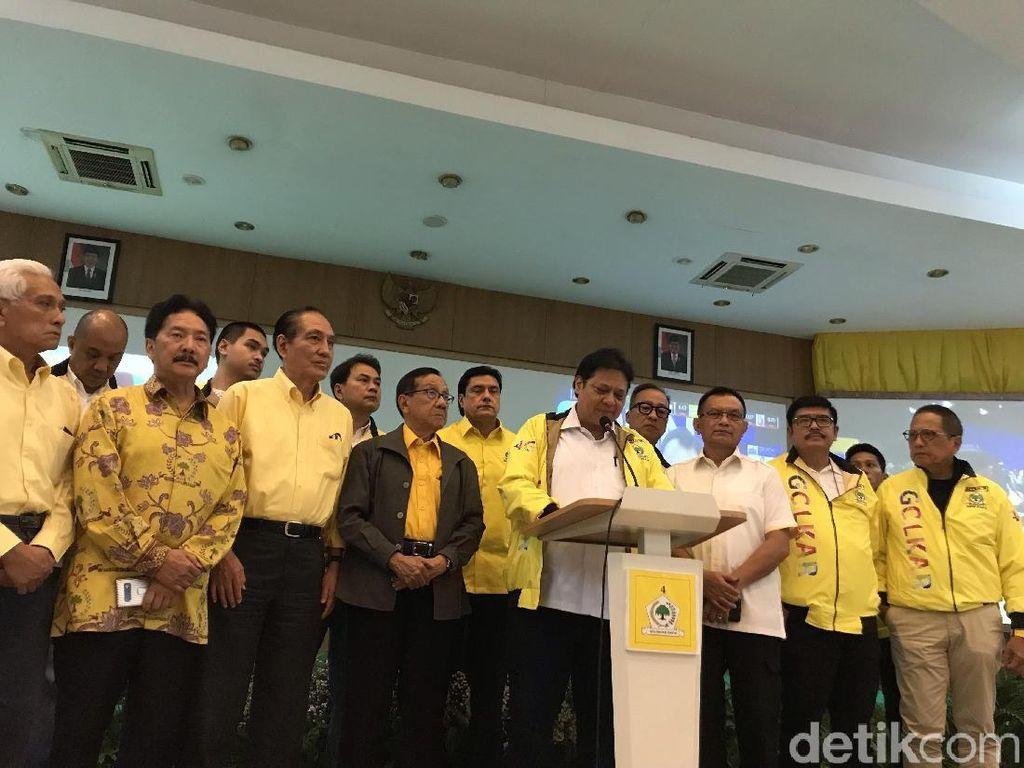 Jokowi-Maruf Unggul Versi Quick Count, Ketum Golkar: Ini Amanat Rakyat