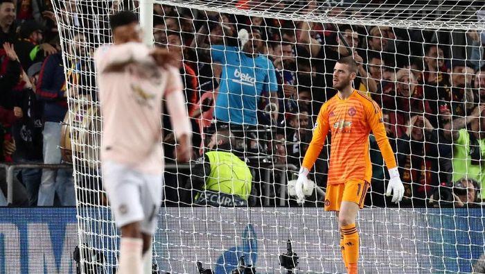 Manchester United butuh beberapa tahun untuk menyamai level Barcelona (Sergio Perez/Reuters)
