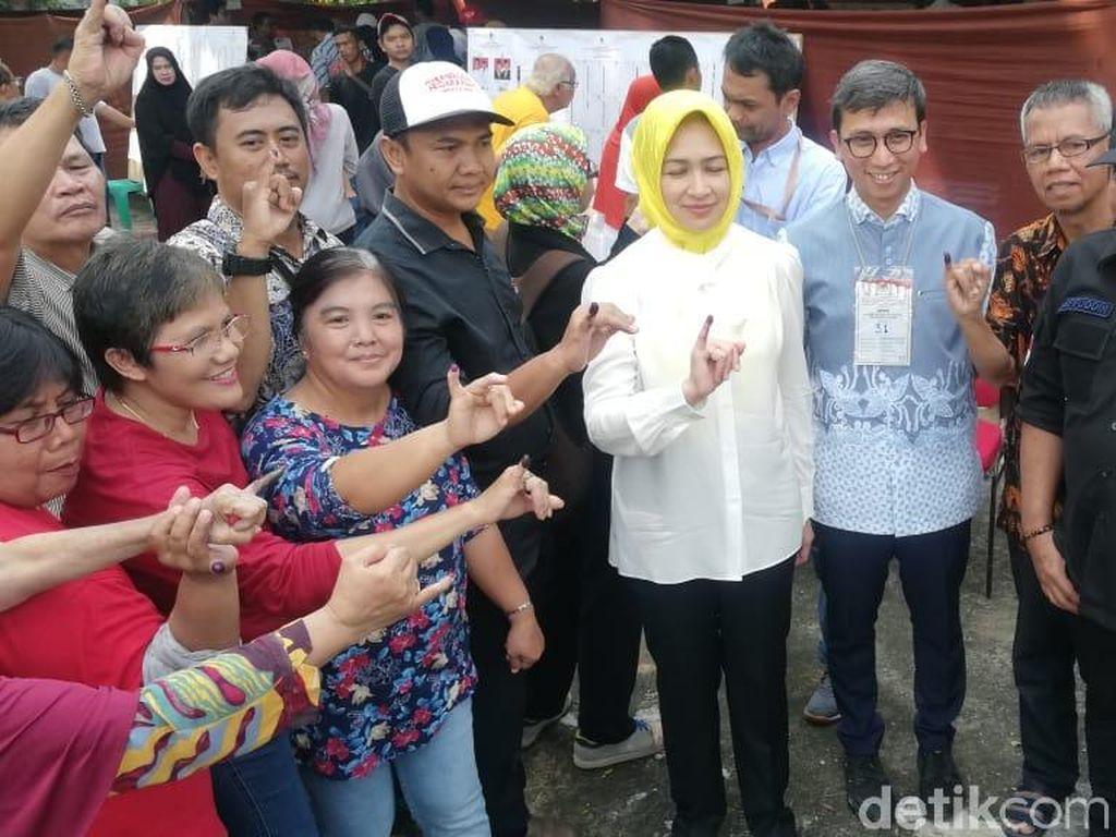 Wali Kota Tangsel Airin Harap Partisipasi Warga di Pemilu Meningkat