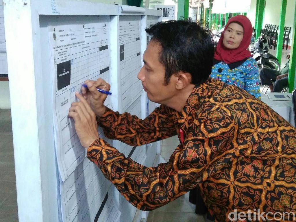 Prabowo Menang Tipis di TPS Rustriningsih