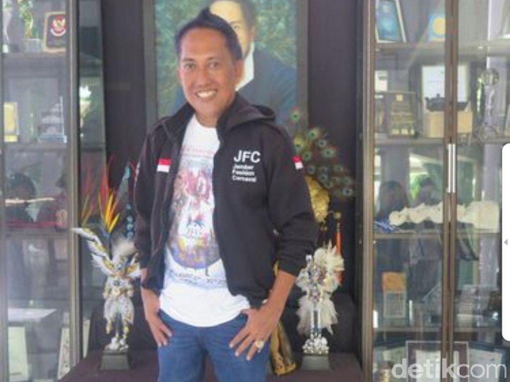 Presiden Jember Fashion Carnaval Dynand Fariz Meninggal