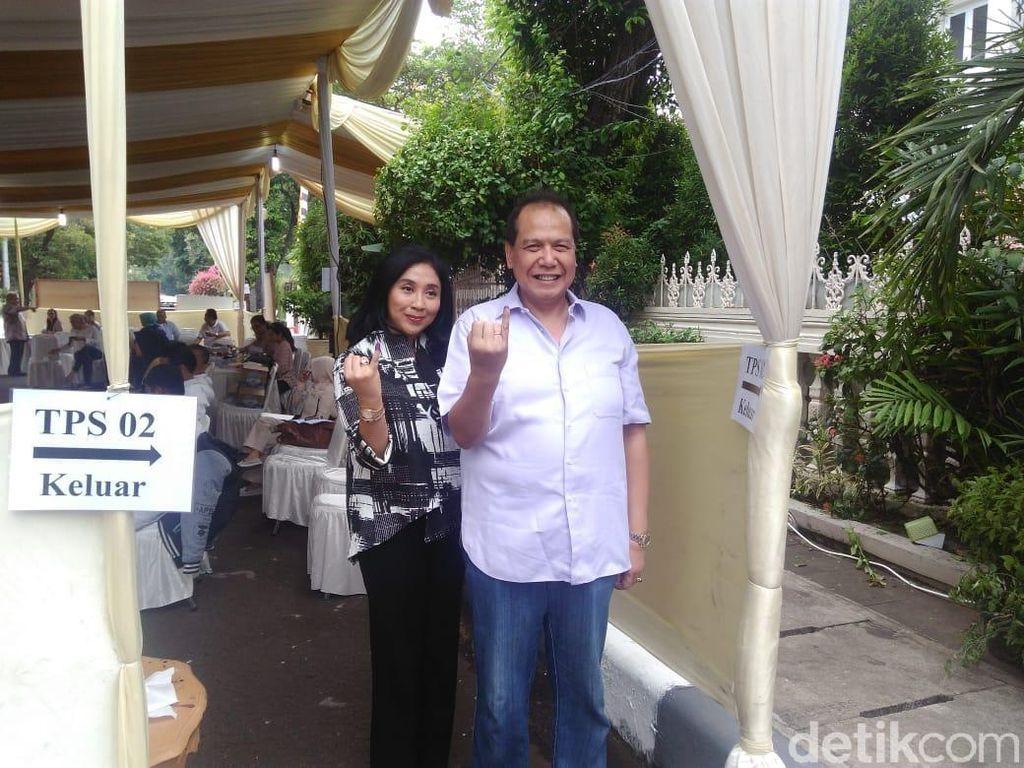 Usai Mencoblos, CT: Indonesia Makin Maju dan Sejahtera