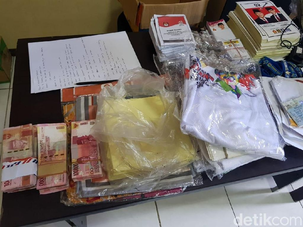Caleg dari Partai Gerindra Diamankan, Diduga Hendak Lakukan Politik Uang