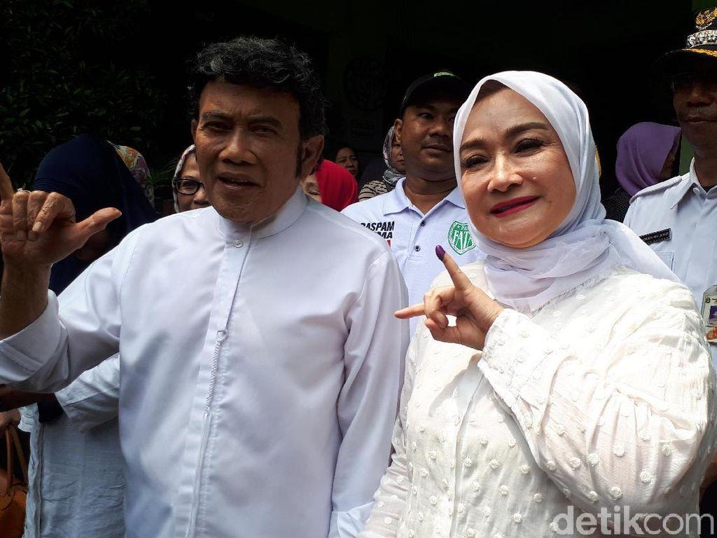 Rhoma Irama Rayakan Ultah Istri Jika Quick Count Prabowo Unggul