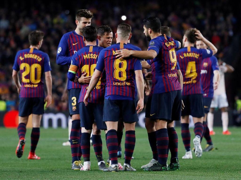Barcelona Tinggal Berjarak Delapan Hari dengan Trofi Liga Spanyol