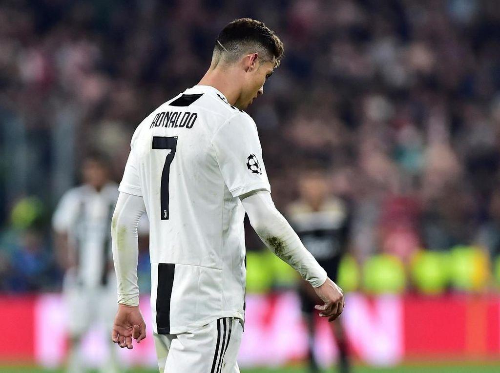 Juventus dan Ronaldo Tersingkir dari Liga Champions Jadi Tertawaan Netizen