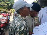 Pemilih di TPS 009 Serang Bingung dengan Banyaknya Surat Suara
